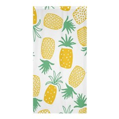 Pineapple Fruite Seamless Pattern Shower Curtain 36  X 72  (stall)  by Mariart