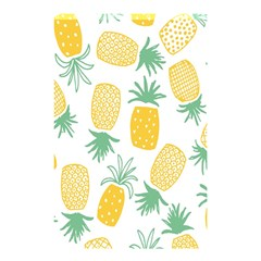 Pineapple Fruite Seamless Pattern Shower Curtain 48  X 72  (small)