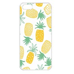 Pineapple Fruite Seamless Pattern Apple Iphone 5 Seamless Case (white) by Mariart