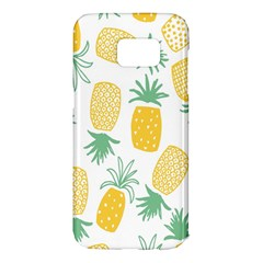 Pineapple Fruite Seamless Pattern Samsung Galaxy S7 Edge Hardshell Case by Mariart