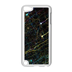 Neurons Light Neon Net Apple Ipod Touch 5 Case (white) by Mariart