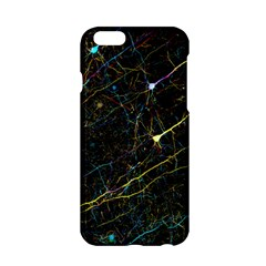 Neurons Light Neon Net Apple Iphone 6/6s Hardshell Case by Mariart