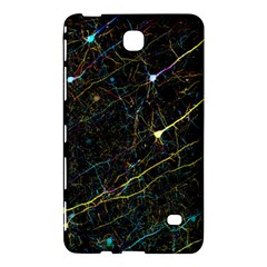 Neurons Light Neon Net Samsung Galaxy Tab 4 (8 ) Hardshell Case  by Mariart