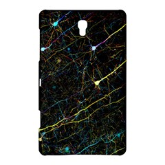 Neurons Light Neon Net Samsung Galaxy Tab S (8 4 ) Hardshell Case