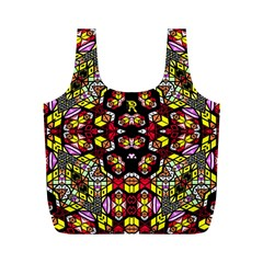 Queen Design 456 Full Print Recycle Bags (m)  by MRTACPANS