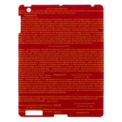 Mrtacpans Writing Grace Apple Ipad 3/4 Hardshell Case by MRTACPANS