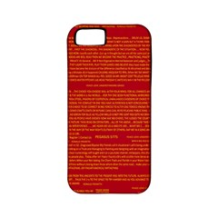 Mrtacpans Writing Grace Apple Iphone 5 Classic Hardshell Case (pc+silicone) by MRTACPANS