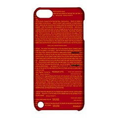 Mrtacpans Writing Grace Apple Ipod Touch 5 Hardshell Case With Stand by MRTACPANS