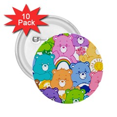 Care Bears 2 25  Buttons (10 Pack)  by MadelineMadness