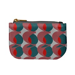 Pink Red Grey Three Art Mini Coin Purses by Mariart