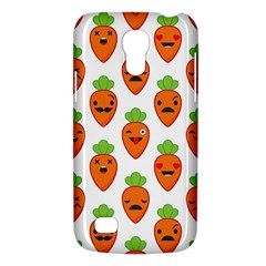 Seamless Background Carrots Emotions Illustration Face Smile Cry Cute Orange Galaxy S4 Mini