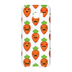 Seamless Background Carrots Emotions Illustration Face Smile Cry Cute Orange Samsung Galaxy S8 Hardshell Case  by Mariart
