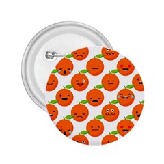 Seamless Background Orange Emotions Illustration Face Smile  Mask Fruits 2 25  Buttons by Mariart