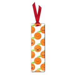 Seamless Background Orange Emotions Illustration Face Smile  Mask Fruits Small Book Marks by Mariart