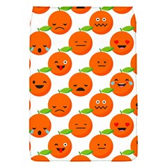 Seamless Background Orange Emotions Illustration Face Smile  Mask Fruits Flap Covers (s)  by Mariart