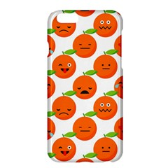 Seamless Background Orange Emotions Illustration Face Smile  Mask Fruits Apple Iphone 6 Plus/6s Plus Hardshell Case by Mariart