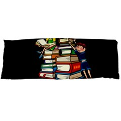 Back To School Body Pillow Case (dakimakura) by Valentinaart
