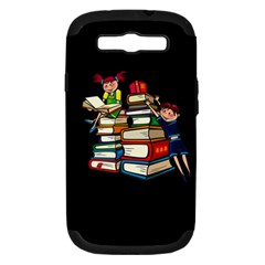 Back To School Samsung Galaxy S Iii Hardshell Case (pc+silicone) by Valentinaart