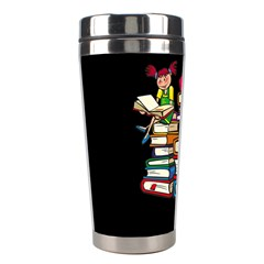 Back To School Stainless Steel Travel Tumblers by Valentinaart