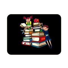 Back To School Double Sided Flano Blanket (mini)  by Valentinaart