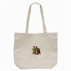 Back To School Tote Bag (cream) by Valentinaart