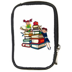 Back To School Compact Camera Cases by Valentinaart