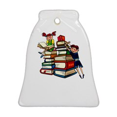 Back To School Bell Ornament (two Sides) by Valentinaart