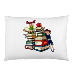 Back To School Pillow Case (two Sides) by Valentinaart