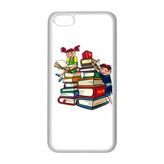 Back To School Apple Iphone 5c Seamless Case (white)