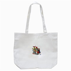 Back To School Tote Bag (white) by Valentinaart