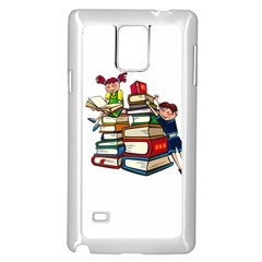 Back To School Samsung Galaxy Note 4 Case (white)