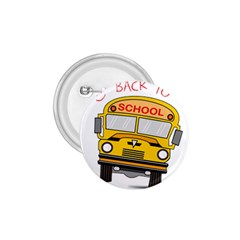 Back To School   School Bus 1 75  Buttons by Valentinaart