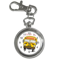Back To School   School Bus Key Chain Watches
