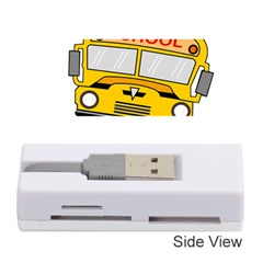 Back To School   School Bus Memory Card Reader (stick)