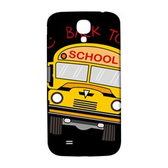 Back To School   School Bus Samsung Galaxy S4 I9500/i9505  Hardshell Back Case