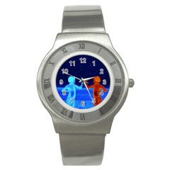Space Boys  Stainless Steel Watch