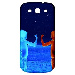 Space Boys  Samsung Galaxy S3 S Iii Classic Hardshell Back Case by Valentinaart