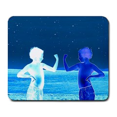 Space Boys  Large Mousepads by Valentinaart