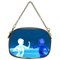 Space Boys  Chain Purses (one Side)
