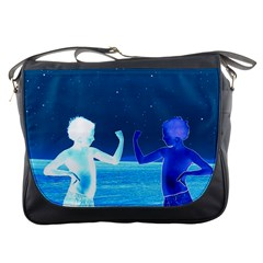 Space Boys  Messenger Bags
