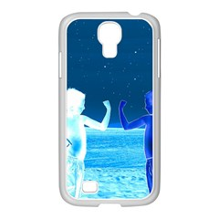 Space Boys  Samsung Galaxy S4 I9500/ I9505 Case (white) by Valentinaart