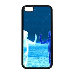 Space Boys  Apple Iphone 5c Seamless Case (black) by Valentinaart
