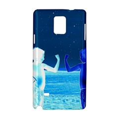 Space Boys  Samsung Galaxy Note 4 Hardshell Case by Valentinaart