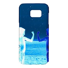 Space Boys  Samsung Galaxy S7 Edge Hardshell Case by Valentinaart