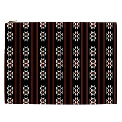 Folklore Pattern Cosmetic Bag (xxl)