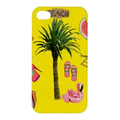 Aloha   Summer Fun 2 Apple Iphone 4/4s Hardshell Case by MoreColorsinLife