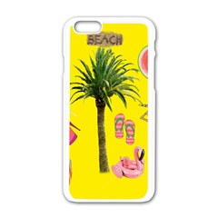 Aloha   Summer Fun 2 Apple Iphone 6/6s White Enamel Case by MoreColorsinLife