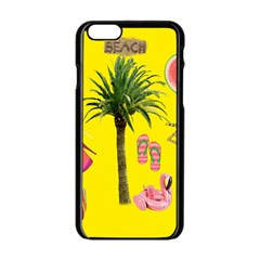 Aloha   Summer Fun 2 Apple Iphone 6/6s Black Enamel Case by MoreColorsinLife