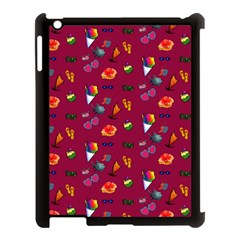Aloha   Summer Fun 1c Apple Ipad 3/4 Case (black) by MoreColorsinLife