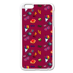 Aloha   Summer Fun 1c Apple Iphone 6 Plus/6s Plus Enamel White Case by MoreColorsinLife